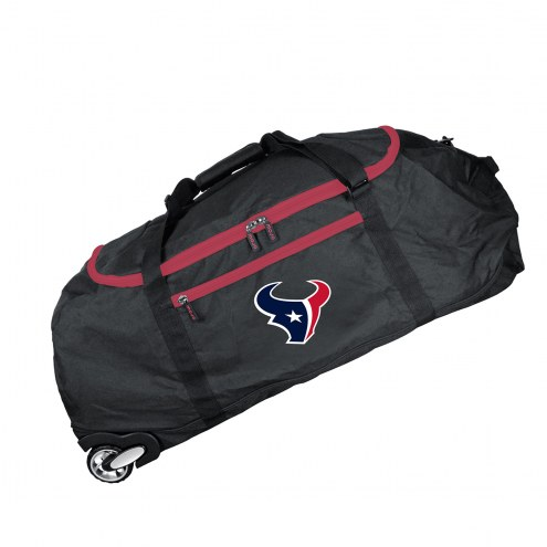 """Houston Texans 36"""" Checked-in Wheeled Duffel"""