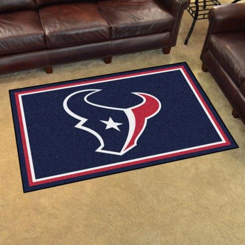 Houston Texans 4' x 6' Area Rug