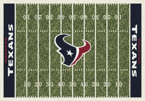 Houston Texans 4' x 6' NFL Home Field Area Rug
