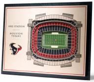 Houston Texans 5-Layer StadiumViews 3D Wall Art
