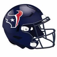 Houston Texans Authentic Helmet Cutout Sign