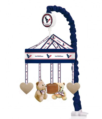Houston Texans Baby Crib Musical Mobile