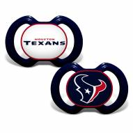Houston Texans Baby Pacifier 2-Pack