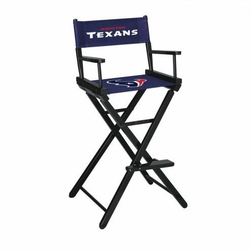 Houston Texans Bar Height Director's Chair