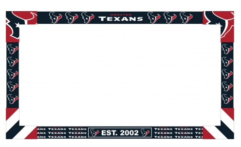 Houston Texans Big Game TV Frame