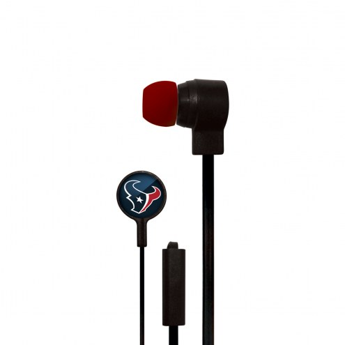 Houston Texans Big Logo Ear Buds