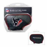 Houston Texans Blade Putter Headcover
