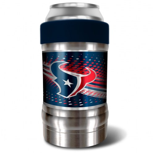 Houston Texans Blue 12 oz. Locker Vacuum Insulated Can Holder
