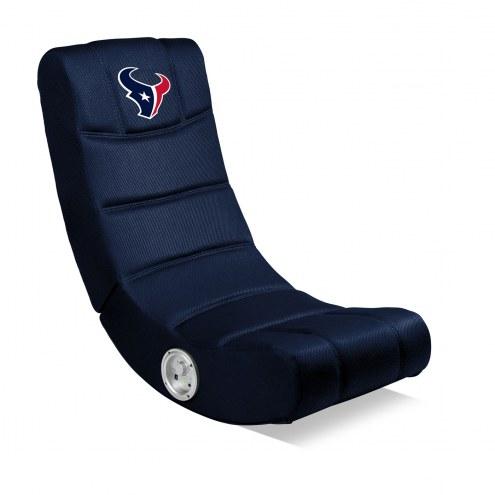 Houston Texans Bluetooth Gaming Chair