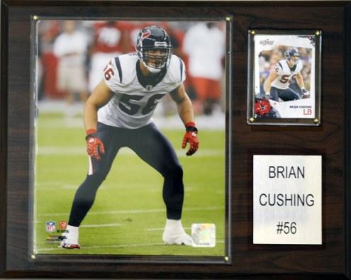 "Houston Texans Brian Cushing 12 x 15"" Player Plaque"