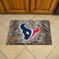 Houston Texans Camo Scraper Door Mat