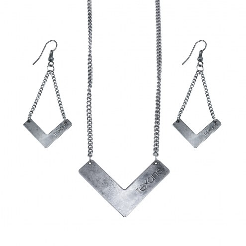 Houston Texans Chevron Jewelry Set