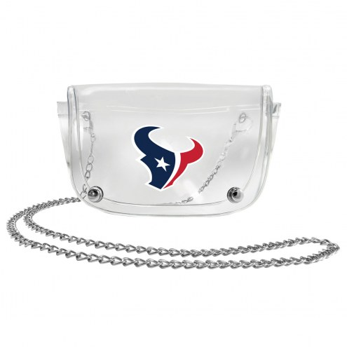 Houston Texans Clear Waistpack