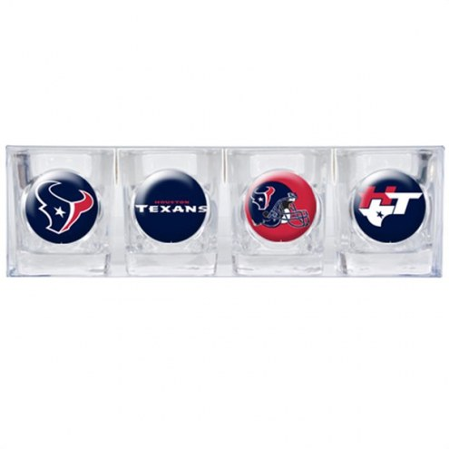 Houston Texans Collector's Shot Glass Set