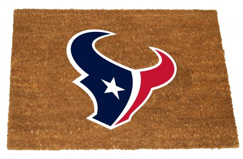 Houston Texans Colored Logo Door Mat