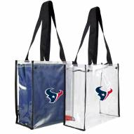 Houston Texans Convertible Clear Tote