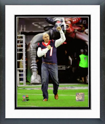 Houston Texans David Quessenberry Action Framed Photo