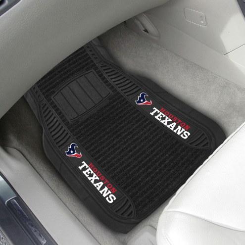 Houston Texans Deluxe Car Floor Mat Set