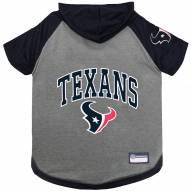Houston Texans Dog Hoodie Tee