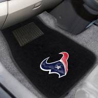 Houston Texans Embroidered Car Mats