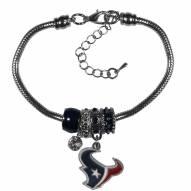 Houston Texans Euro Bead Bracelet