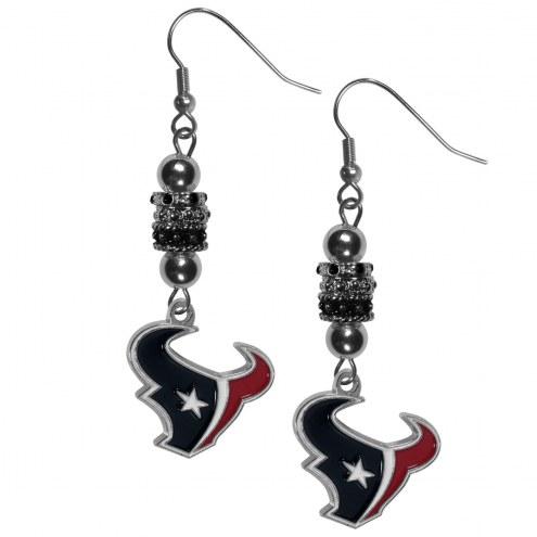 Houston Texans Euro Bead Earrings