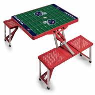 Houston Texans Folding Picnic Table
