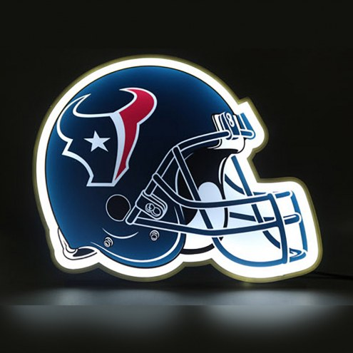Houston Texans Football Helmet LED Lamp