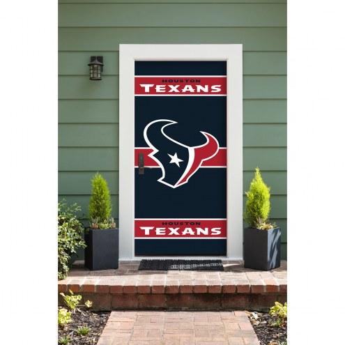 Houston Texans Front Door Cover