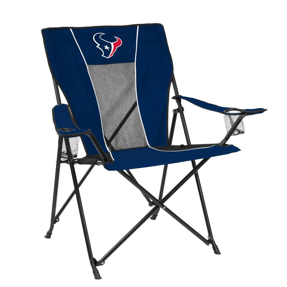 Grab the best seat in the house with Logo Chairu0027s top of the line tailgating chair! The Houston Texans Game Time Tailgate Chair features a higher seat ...  sc 1 st  Sports Unlimited & Houston Texans Game Time Tailgate Chair