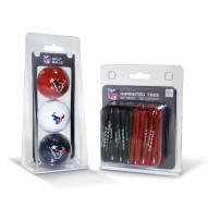 Houston Texans Golf Ball & Tee Pack