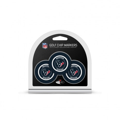 Houston Texans Golf Chip Ball Markers