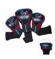Houston Texans Golf Headcovers - 3 Pack