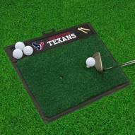 Houston Texans Golf Hitting Mat