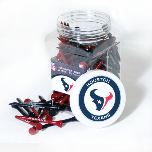 Houston Texans 175 Golf Tee Jar