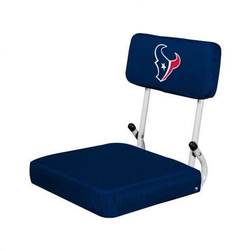 Houston Texans Hardback Stadium Seat