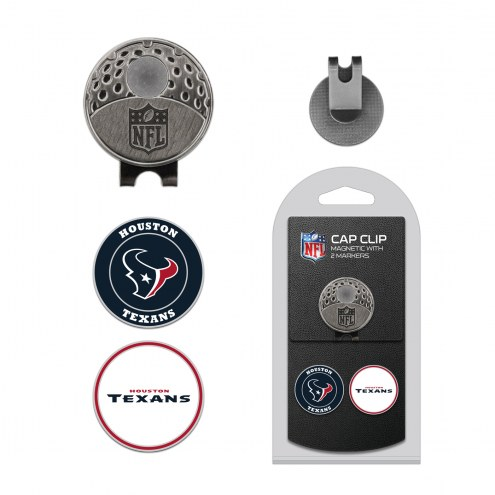 Houston Texans Hat Clip & Marker Set