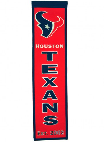 Houston Texans Heritage Banner