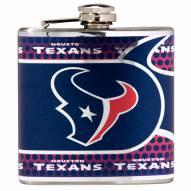 Houston Texans Hi-Def Stainless Steel Flask