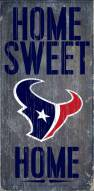 Houston Texans Home Sweet Home Wood Sign