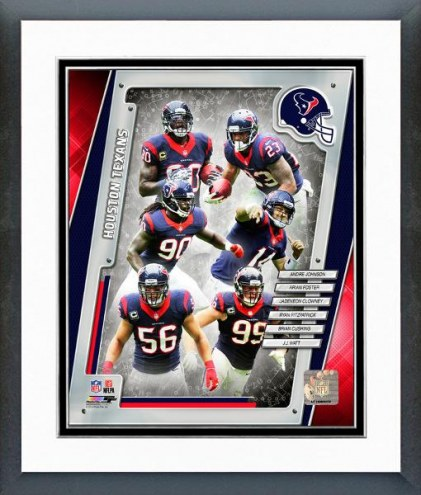 Houston Texans Hoston Texans Team Composite Framed Photo