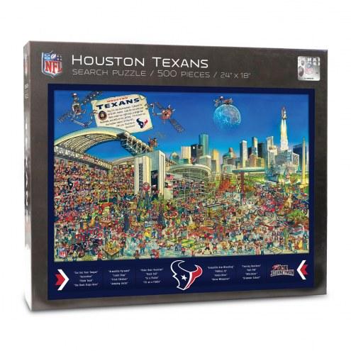 Houston Texans Joe Journeyman Puzzle