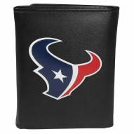 Houston Texans Large Logo Leather Tri-fold Wallet