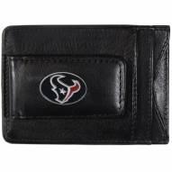 Houston Texans Leather Cash & Cardholder