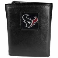 Houston Texans Leather Tri-fold Wallet