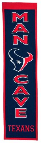 Houston Texans Man Cave Banner