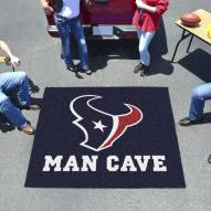 Houston Texans Man Cave Tailgate Mat