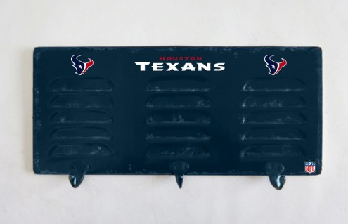 Houston Texans Metal Coat Rack