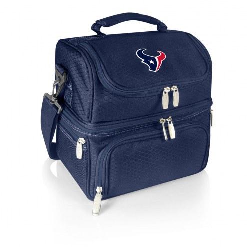 Houston Texans Navy Pranzo Insulated Lunch Box