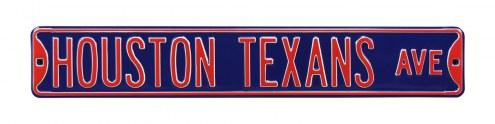 Houston Texans NFL Authentic Street Sign
